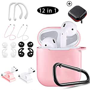 Amazon.com: Airpods Case Pink,HOOXIN Airpods Accessories