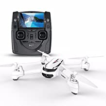 HSF Hubsan H502S FPV X4 Desire GPS Altitude Mode 4 Channel 5.8GHz Transmitter 6 Axis Quadcopter Drone with 720p HD Camera (White)