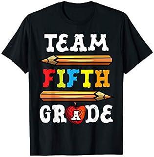 Team Fifth Grade Back To School 5th Grade Teacher T-shirt   Size S - 5XL