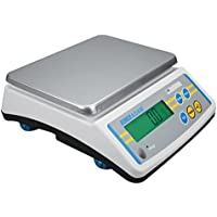 Adam Equipment LBK25A Compact Industrial Bench Scale, 12kg, 115V