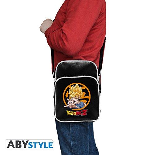 DRAGON BALL ABYstyle Vinyle Petit Format Sac Besace Goku