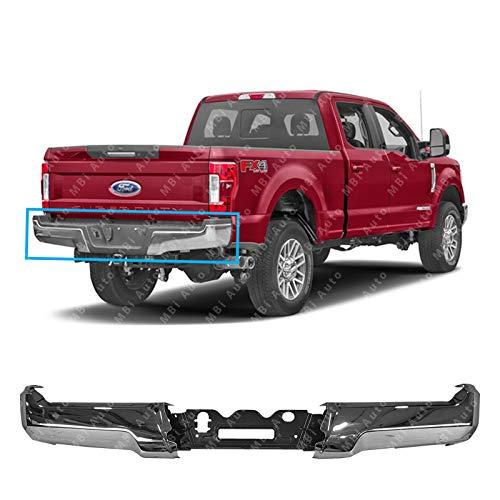 MBI AUTO - Chrome, Steel Rear Bumper Ends w/Stabilizer Bar for 2017 2018 Ford F250 F350 F450 F550 Super Duty 17 18, - F550 4x4 Ford