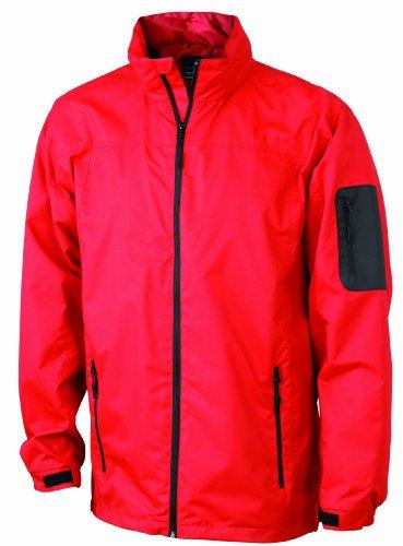 James Giacca Nicholson red black Uomo Funktionsjacke amp; Rosso rOSwxtHrq