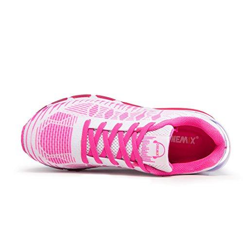 Runners Luft Laufschuhe Sneakers onemix Herren Air Schwarz Pink Fitness Sportschuhe TnIWTYHqP