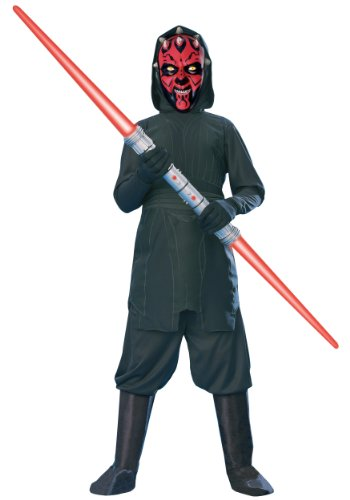 Star Wars Darth Maul Child Costumes (Star Wars Child's Darth Maul Costume, Medium)