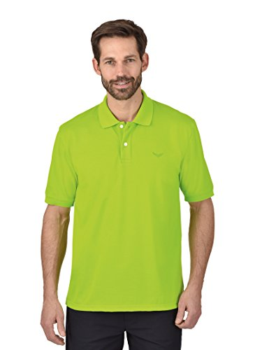Trigema Herren Poloshirt DELUXE Piqué, Gr. Small, Gelb (lemon 271)