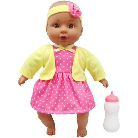 dly Baby Doll, Pink Outfit African American (Cuddly Sweet)