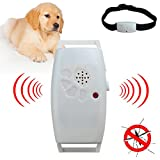 Teekini Dog Cat Pet Collar Ultrasonic Mosquito Bug Pest Repellent Repeller Pet Supplies