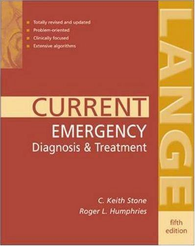 CURRENT Emergency Diagnosis & Treatment (LANGE CURRENT Series)