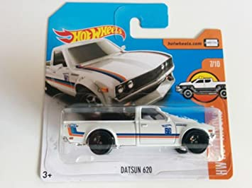 Hot Wheels 2017 Hw Hot Trucks Datsun 620 White 181365 Short Card
