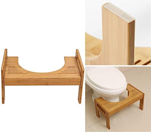 GYTOO Bathroom Stool, Multifunctional Toilet Stool Anti-Skid/Toilet Seat Footstool Household/Heightened Thickened Stool, Suitable for Pregnant Women/Elderly Etc ()