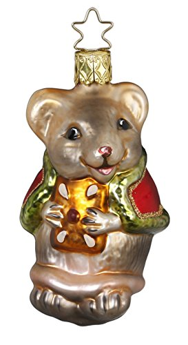 christmas-mouse-glass-ornament-inge-made-in-germany-new