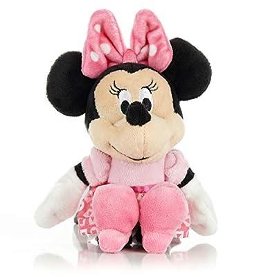 KIDS PREFERRED Disney Baby Minnie Mouse Stuffed Animal Plush Toy Mini Jingler, 6.5 inches: Toys & Games
