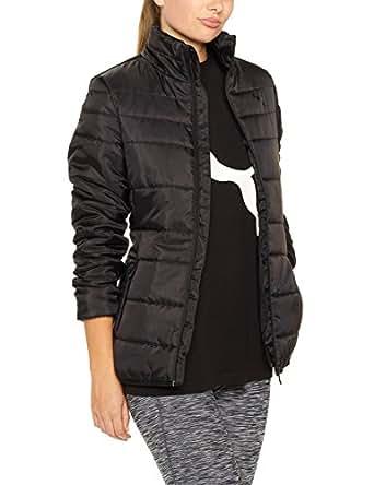 PUMA Women's Essentials Padded Jacket Black (Puma Black),XS