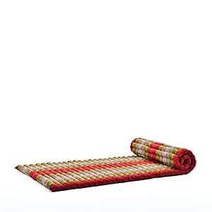 Amazon Com Leewadee Roll Up Thai Mattress Guest Bed Yoga