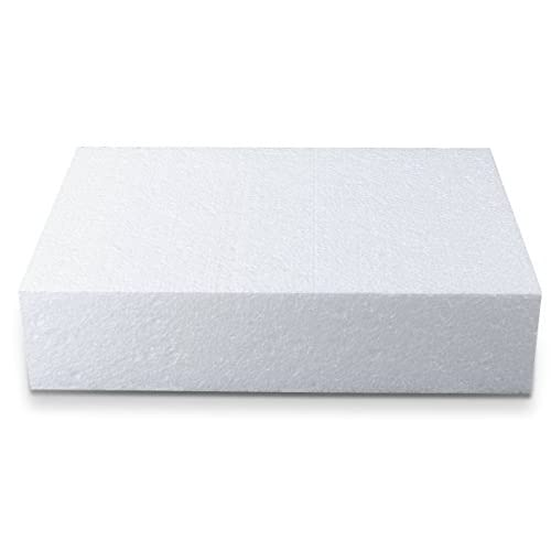 Staedter rectangle de coupe pour Demo gâteaux, Blanc, 30x 20cm