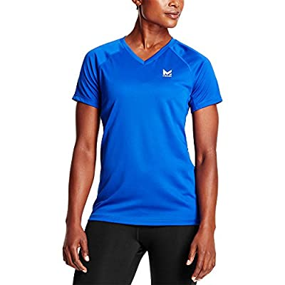 Mission Women's VaporActive Alpha Short Sleeve V-Neck T-Shirt