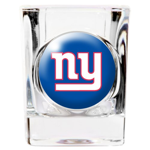 New York Giants Shot Glass (New York Giants Square Shot Glass)