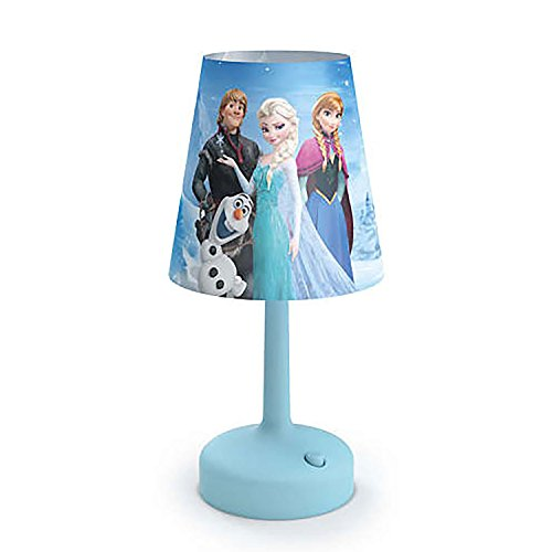 Philips Disney Frozen Portable Children Kids Bedside Table Lamp