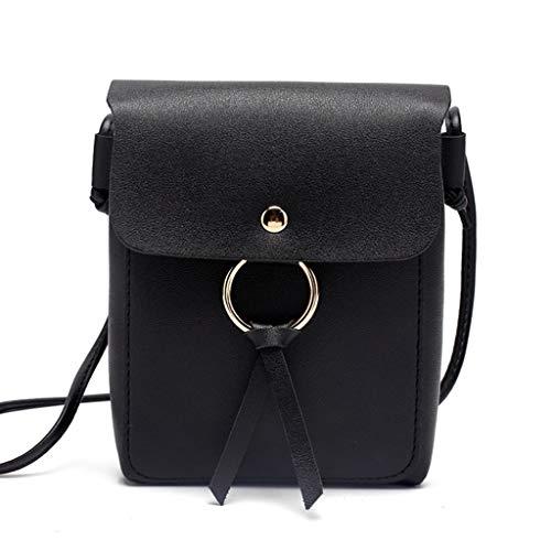 Pouch Purse LifePavilion Bag Mini Wrist Crossbody Phone Black Bags Shoulder Bag Case Mobile PRzwPq