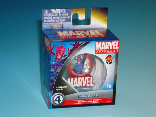 Marvel Univers - Galactus Marble and Base Set - Series 01 - 1 Inch MARBS [Toy]