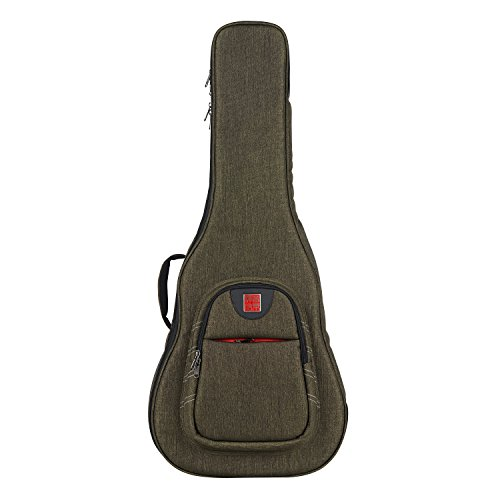Music Area WIND20 Classic Guitar Gig Bag Waterproof with 30mm cushion protection - Green