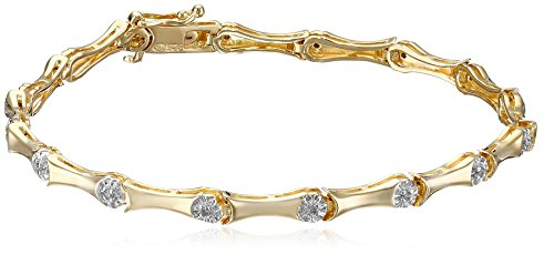 Diamond 18k Gold Bracelet - 5