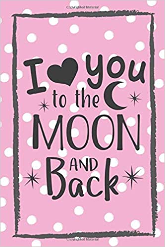 Wedding I Love you to the Moon and Back Anniversary Wrap Valentine Ribbon