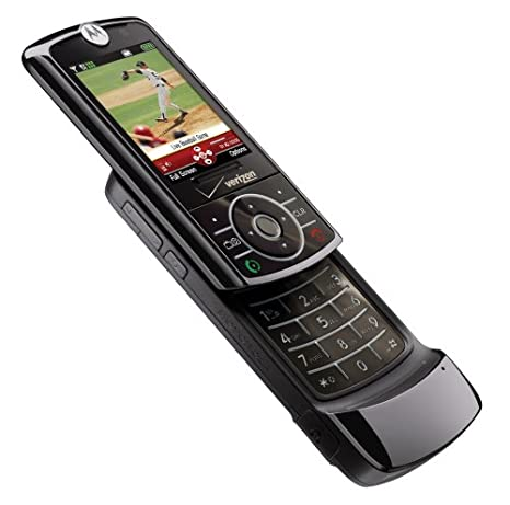 amazon com motorola rizr z6tv black phone verizon wireless phone rh amazon com Motorola PEBL Verizon Motorola RAZR