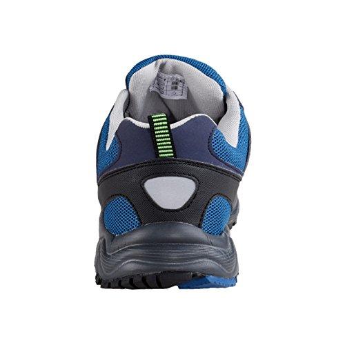 HSM Schuhmarketing - Zapatillas para correr en montaña para hombre azul azul Azul