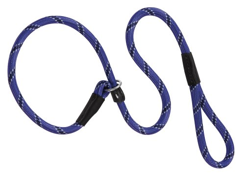 Weaver Leather Rope Slip Dog Lead Collar and Leash, 1/2 X 4-