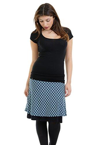 9487272870ae Skirt a linie Ladies - Knee Long Fahion designed by 3Elfen
