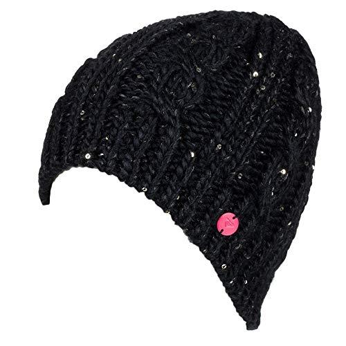 Roxy - Womens Glacialis Beanie, True Black