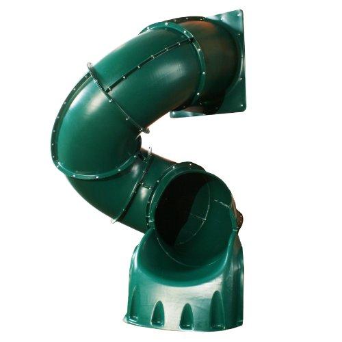 5 Ft Turbo Tube Slide Green by Swing-N-Slide (Image #1)