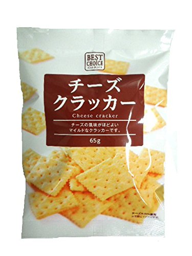 Treasure confectionery best choice cheese crackers 65gX5 bags