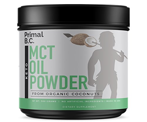 Cheap Primal B.C. – MCT Oil Powder (Medium-chain triglycerides) C8 C10 – 100% Pure Sustainably Sourced Organic Coconut Naturally Powdered Creamer – Ketogenic (keto) and Paleo Diet Approved- Weight Loss