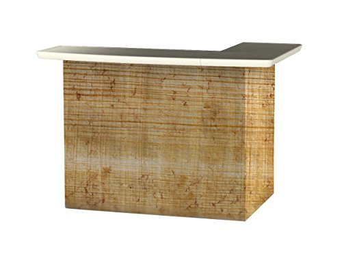 Best of Times Portable Patio Bar Table, Particle Board