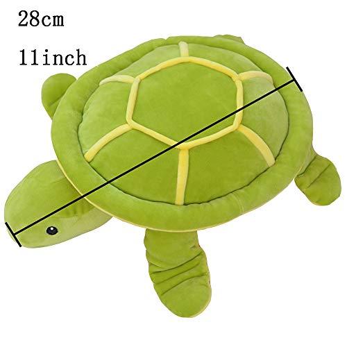 AIXINI Soft Plush Realistic Sea Turtle Cute Stuffed Marine Animal Plush Toy for Boys Girls Adults 19.6inch