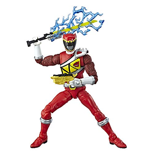 Power Rangers Lightning Collection 6-Inch Dino Charge Red Ranger Collectible Action Figure -