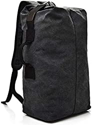 Archibolt Military Duffel Bag Canvas Top Load Double Strap Army Travel Duffle