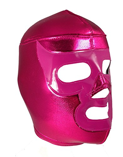 PINK RAMSES Adult Lucha Libre Wrestling Mask (pro-fit) Halloween Costume Wear - Pink -