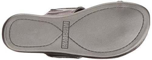 Cole Kenneth 2 Women's Fashion Pewter Tricks Sandals Slim REACTION dvFvnq7wra