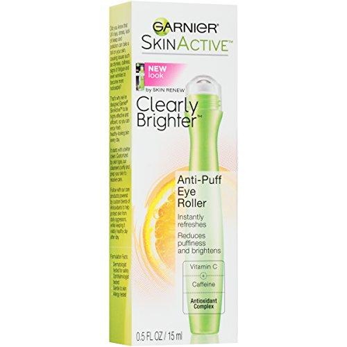 Garnier SkinActive Clearly Brighter Anti-Puff Eye Roller 0.5 oz (Nutritioniste Skin Renew Anti Puff Eye Roller)