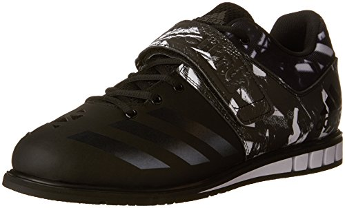 Adidas Prestaties Mens Powerlift.3 Cross-trainer Schoen Zwart / Zwart / Wit