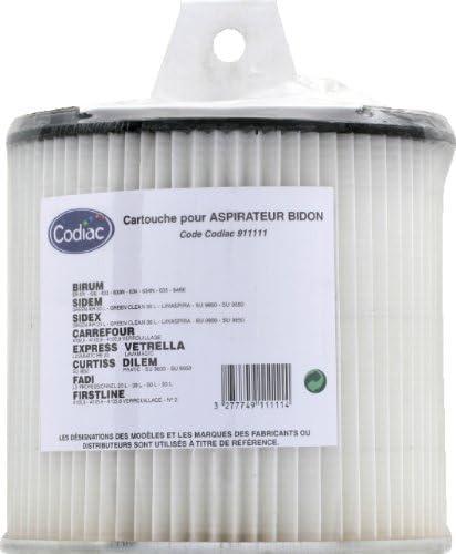 Codiac 911111 - Filtro para aspiradoras: Amazon.es: Hogar