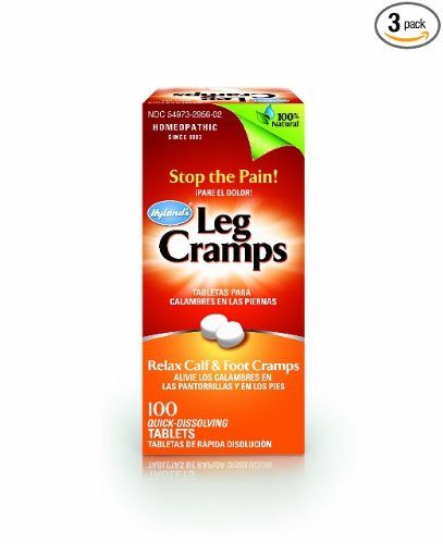 Sulfate Quinine (Hyland's Leg Cramps, 100 Tablets (Pack of 3))
