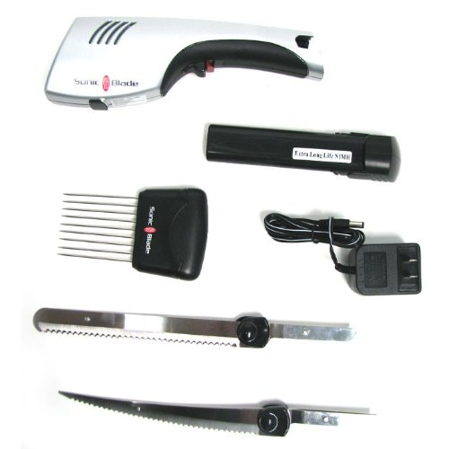 Battery Operated Carving Knife: Cordless Electric Knife