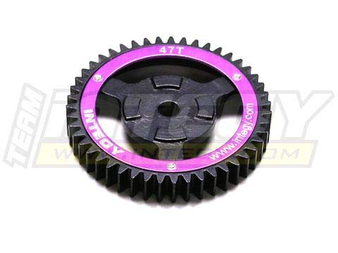 Integy RC Model Hop-ups T6903 Steel Spur Gear for HPI Savage-X, 21 & 25 47T ()