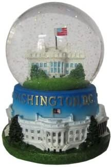US Capitol Musical Snow Globe President Souvenirs