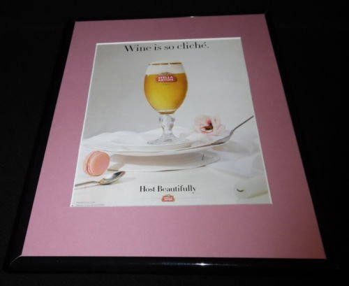 2015-stella-artois-beer-11x14-framed-original-advertisement-b